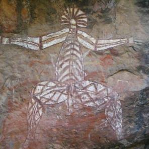 Ancient Australian Aborigine Rock Art