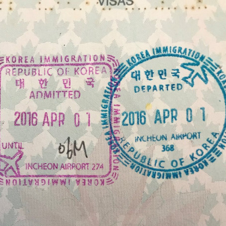 An April Fools Day in Seoul
