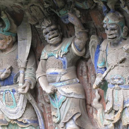 Dazu Grotto Rock Carvings China
