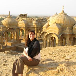 Bada Bagh Cenotaphs India