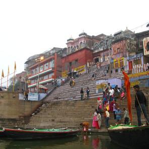 Varanasi on the Ganges River