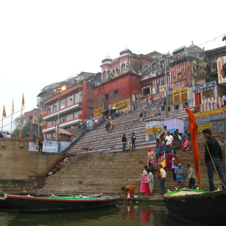 Varanasi on the Ganges River