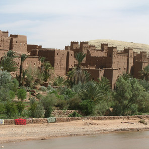 Berber Mud Towns on the Edge of the Sahara