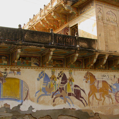 India's Puzzling Frescoed Havelis