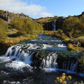 Iceland's Eden - Gjain Valley