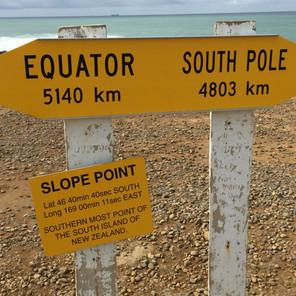 New Zealand Top to Bottom and Some Maori Mythology
