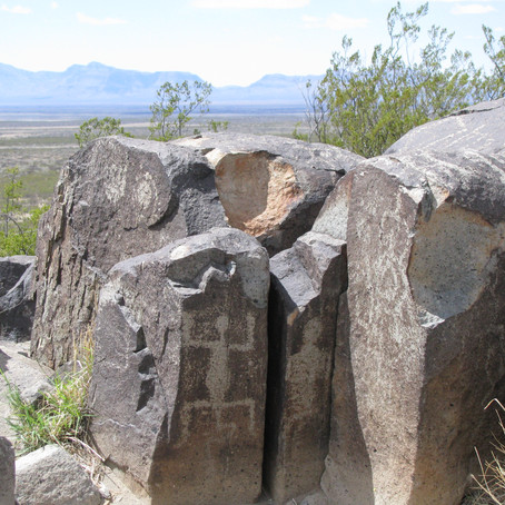 New Mexico Three Rivers Petroglyph Site