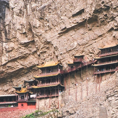 The Precarious Hengshan Hanging Monastery