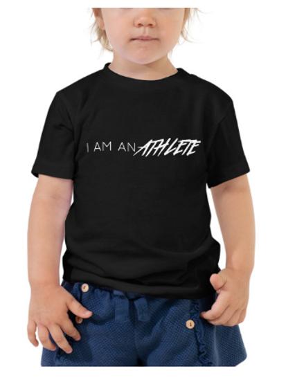 I Am An Athlete - Toddler Short Sleeve Tee