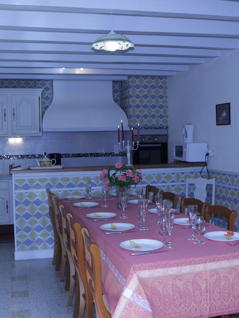 Table pour 12 Personnes