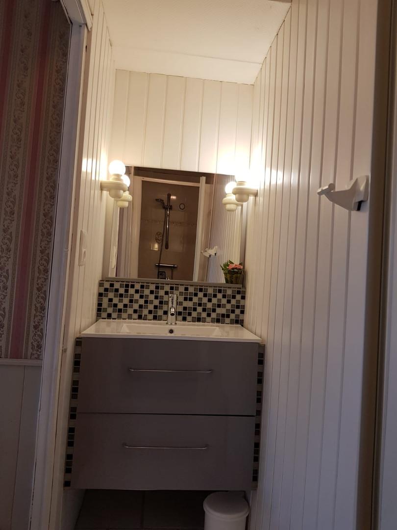 Salle de douche, Chambre Romantique