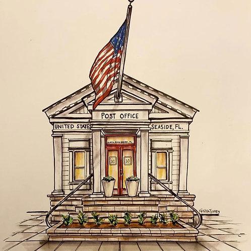 Seaside Post Office, Seaside, FL.