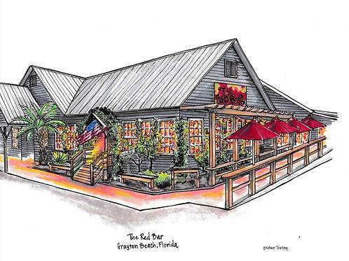 The Red Bar, Grayton Beach, FL