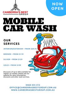 Mobile Car Wash Canberra