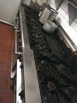 Industrial Stove Top Cleaning1