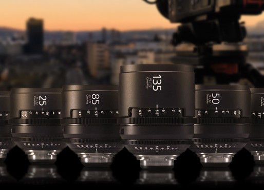 Sony CineAlta Primes Test