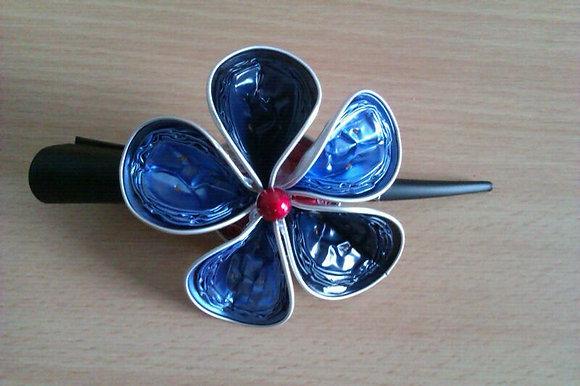 """Haarspange """"Blaue Lagune"""""""
