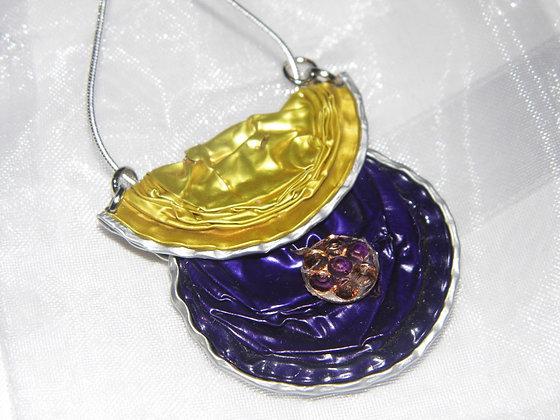 """Kettenanhänger """"Gold Purple"""""""
