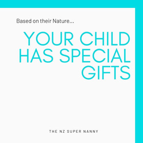 Your Child's Gifts - based on their Nature
