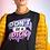 Thumbnail: DON'T BE A DICK Oversized Black T-Shirt