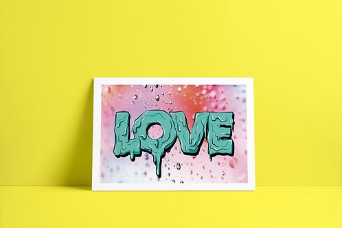 LOVE A3 Print