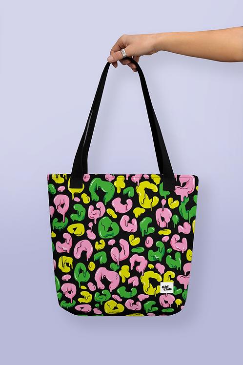 MELTING LEOPARD PRINT Tote Bag