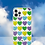 Thumbnail: A WHOLE LOTTA HEARTS Green/Purple iPhone Case