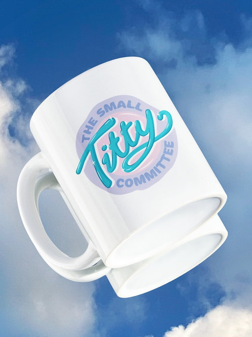 THE SMALL TITTY COMMITTEE Pastel Mug