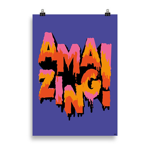 AMAZING Poster