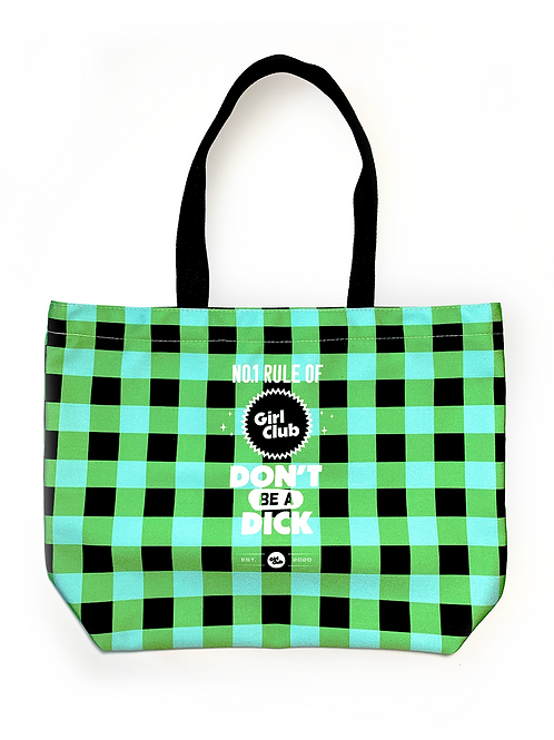 Green Girl Club Tote Bag