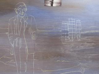 Painting Demo - survivor at sea!