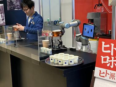 キャラバンコーヒー バリスタロボット