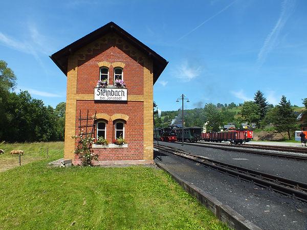 Bahnhof Steinbach im Erzgebirge, Preßnitztalbahn