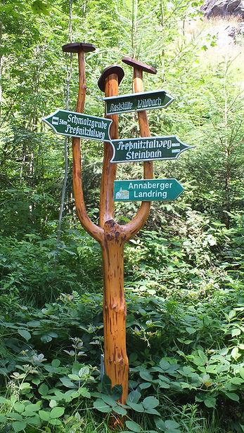 Wanderwege in Steinbach Erzgebirge