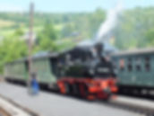 Preßnitztalbahn in Steinbach