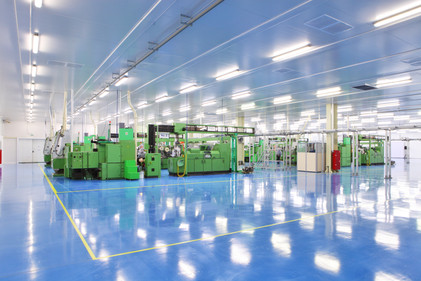 Industriehalle als Reinraumgebäude