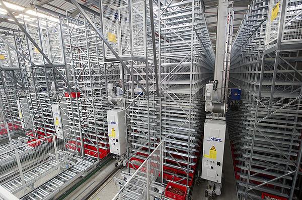 Neubau Hochregallager mit Logistik