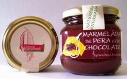 MERMELADA DE PERA CON CHOCOLATE