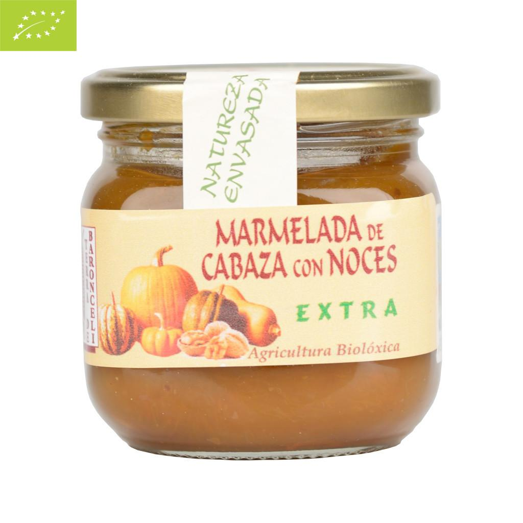 MERMELADA DE CALABAZA CON NUECES