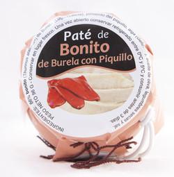 PATÉ DE BONITO CON PIQUILLO