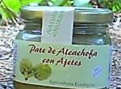 PATÉ DE ALCACHOFAS CON AJETES