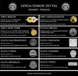 EDMUN DO VAL WINERY AWARDS (ES)