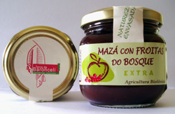 MERMELADA MANZANA/FRUTOS DEL BOSQUE