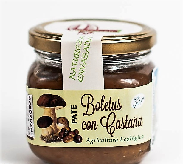 PATÉ DE BOLETUS CON CASTAÑAS