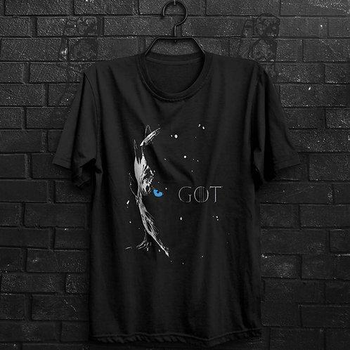 Camiseta - Game Of Thrones White Walker