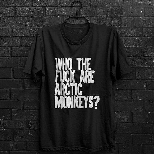 Camiseta - Who The Fuck Are Arctic Monkeys