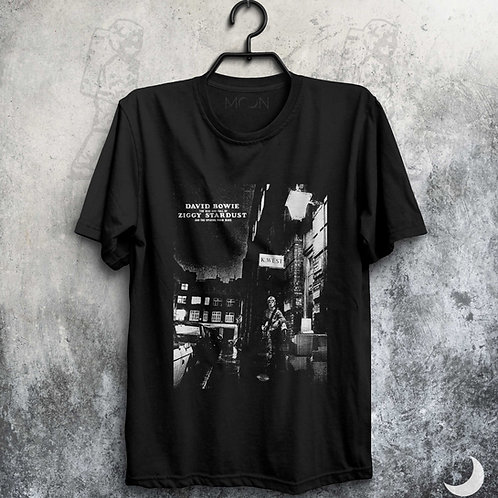 Camiseta - DavidBowie - The Rise And Fall Of Ziggy Stardust