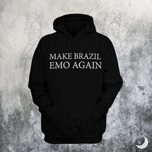 Moletom - Make Brazil Emo Again