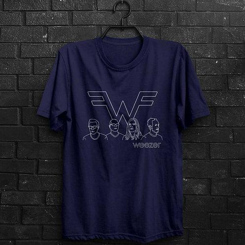 Camiseta - Weezer