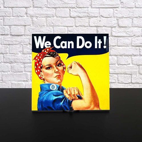 Azulejo - We Can Do It!